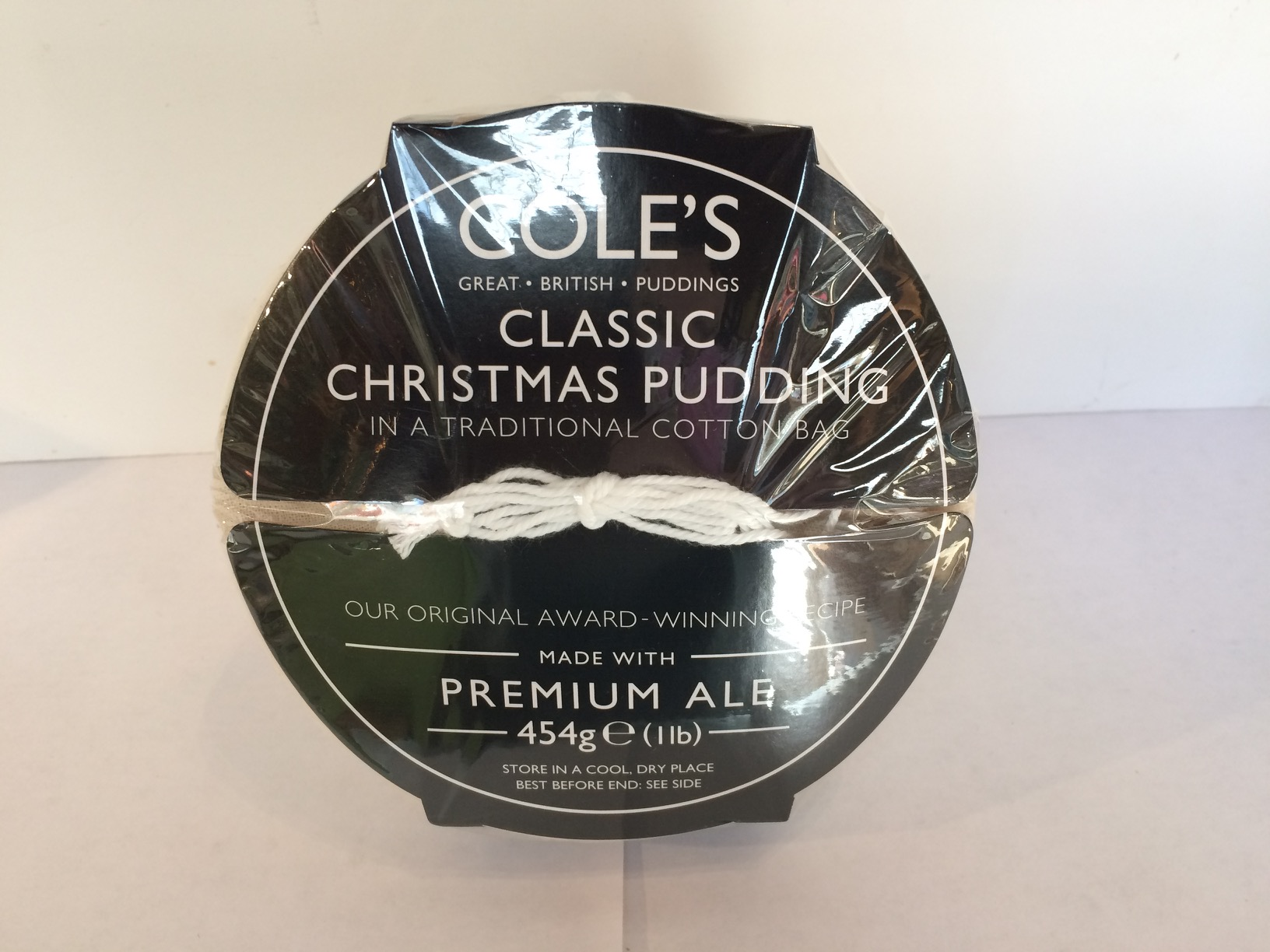 Cole's Classic Christmas Pudding 454g