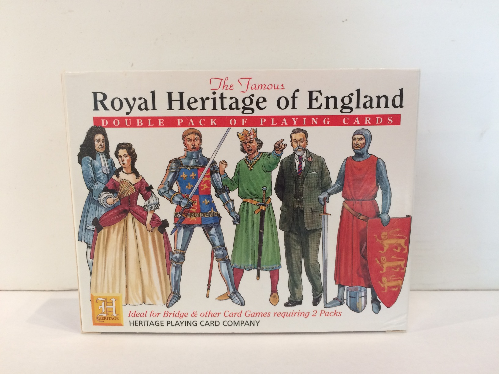 Playing Cards - Royal Heritage of England (2-pack)
