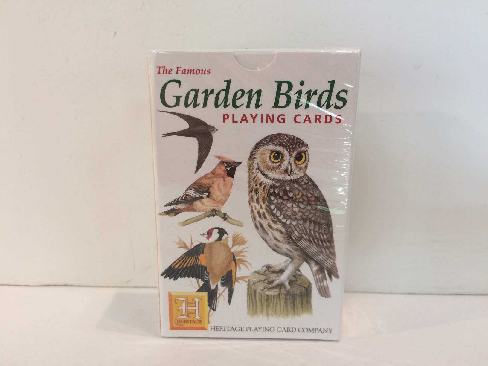 Playing Cards - Garden Birds