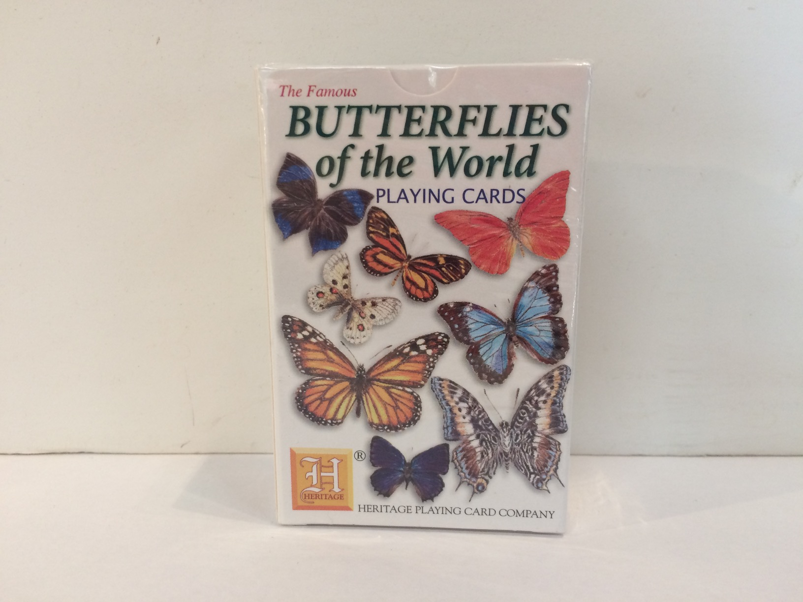 Playing Cards - Butterflies of the World