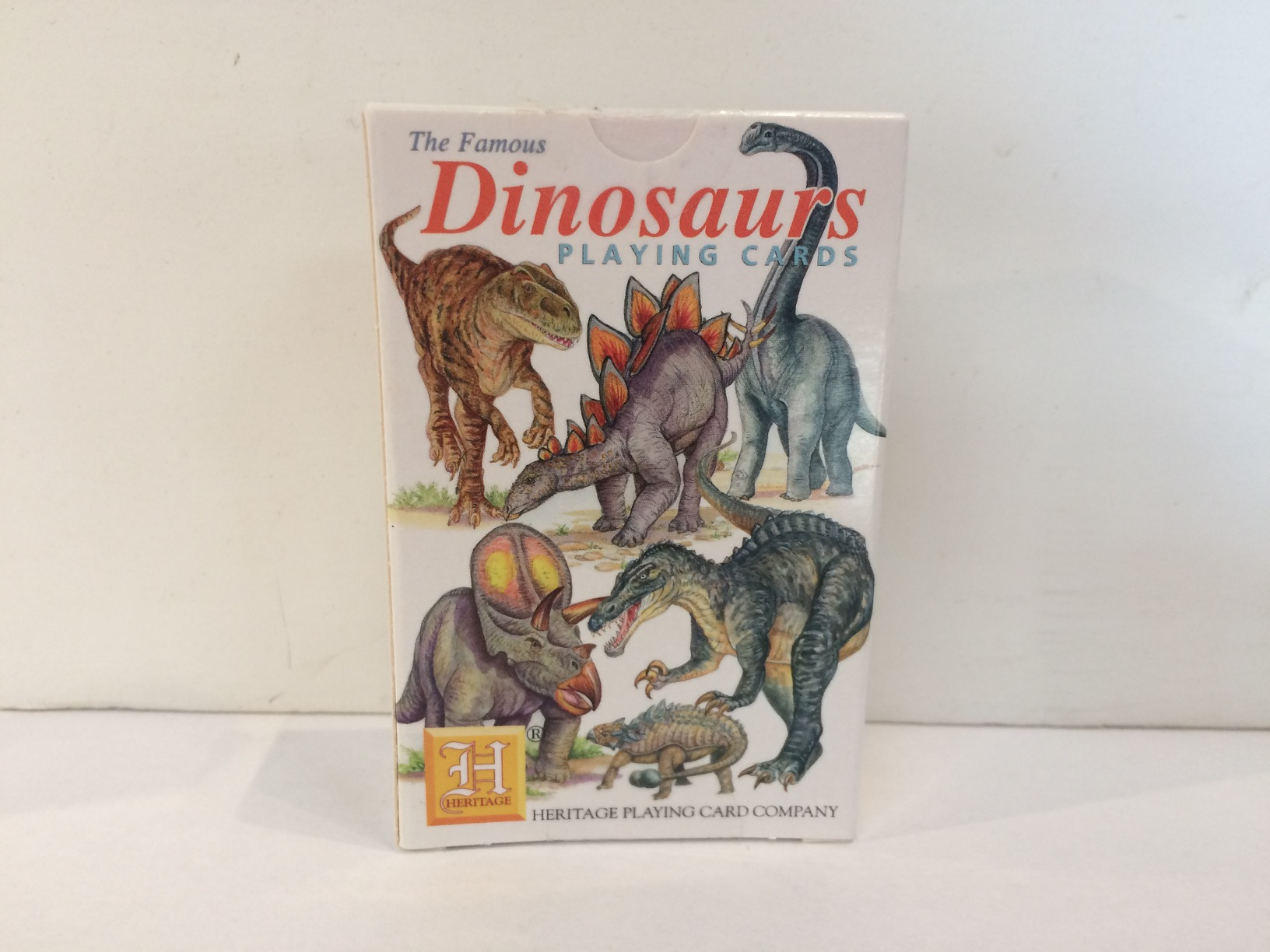 Playing Cards - Dinosaurs