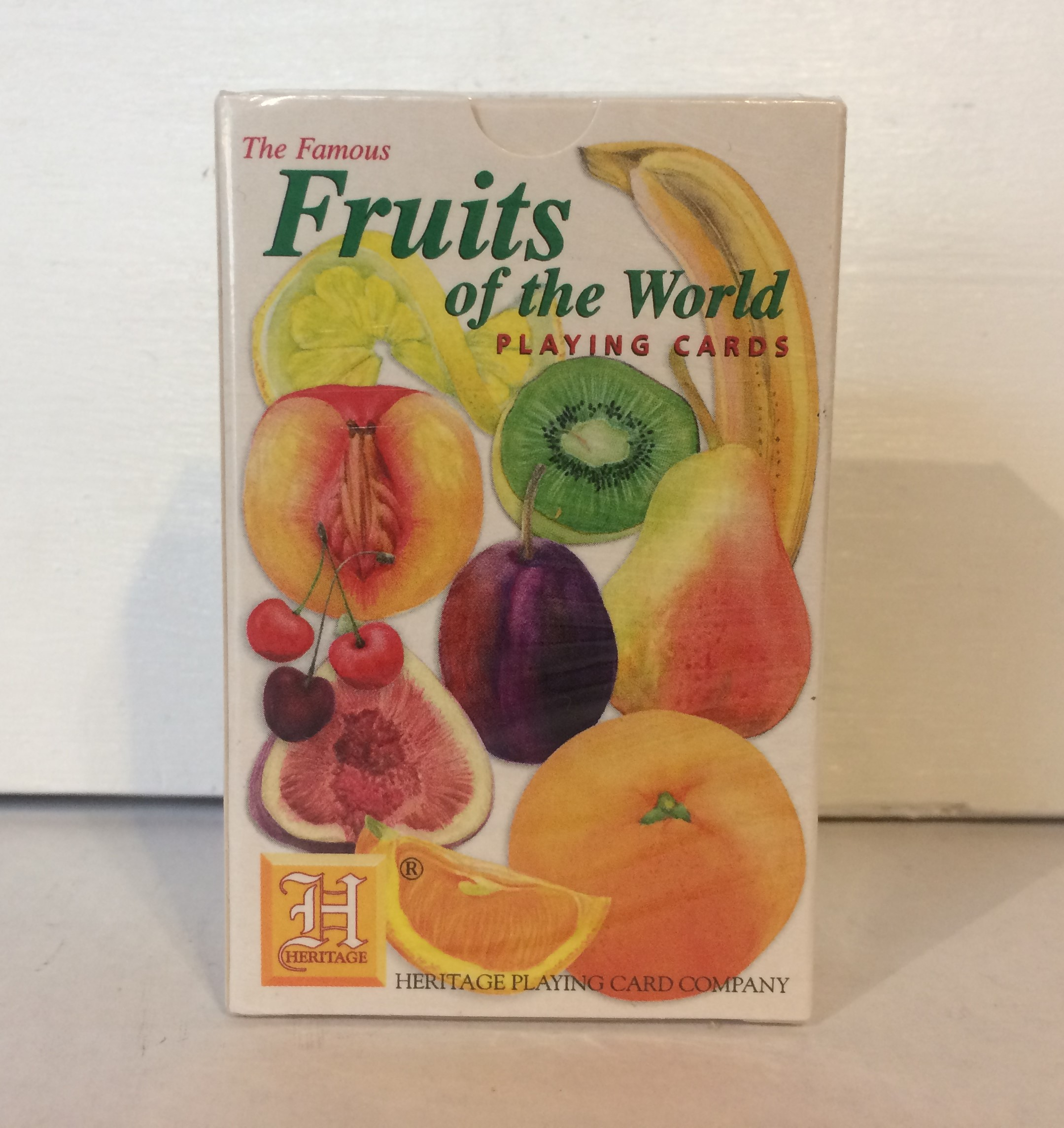 Playing Cards - Fruits of the World